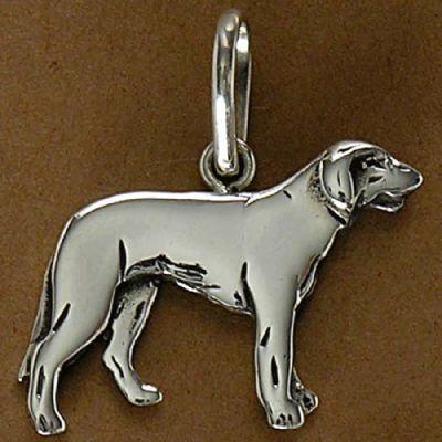 Pingente de Cachorro Labrador - 95439  - Magia das Joias