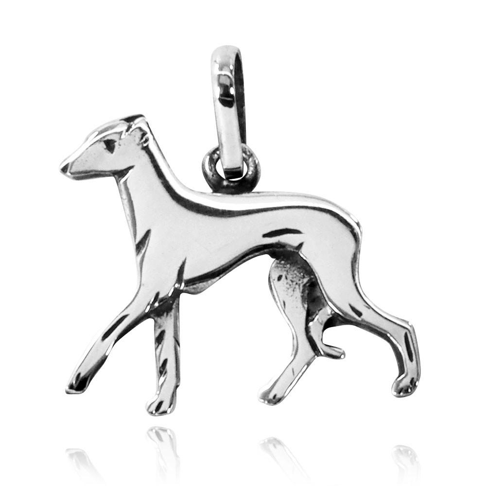 Pingente de Cachorro Lebrel Italiano - 95455  - Arte Ativa