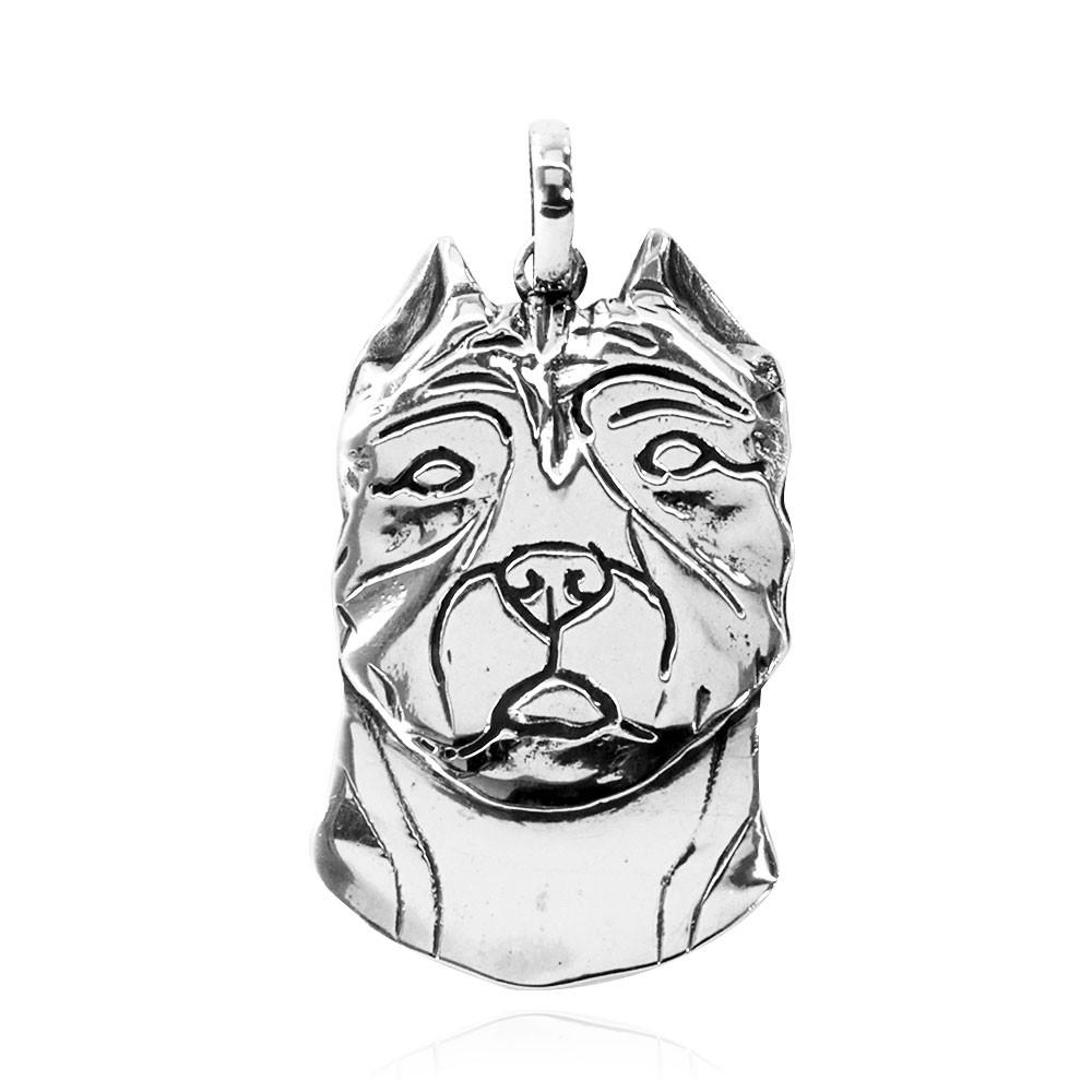 Pingente de Cachorro Pit Bull - 95445  - Arte Ativa