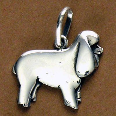 Pingente de Cachorro Poodle - 95438  - Magia das Joias