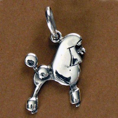 Pingente de Cachorro Poodle - 95442  - Magia das Joias