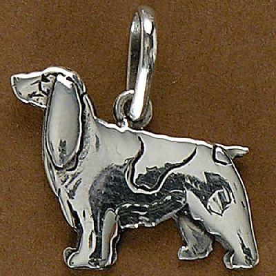 Pingente de Cachorro Springer Spniel - 95433  - Magia das Joias