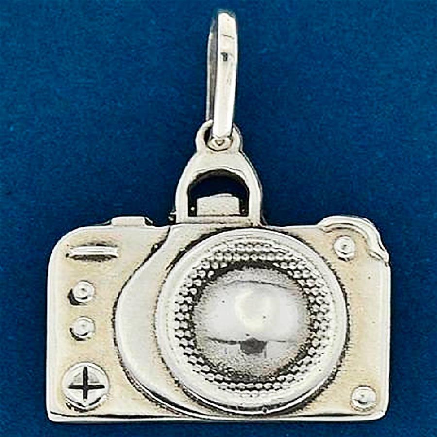 Pingente de Câmera Fotográfica - 9612