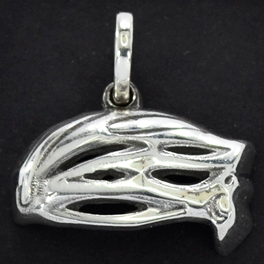 Pingente de Capacete de Ciclista Bicicleta Bike - 9675  - Magia das Joias