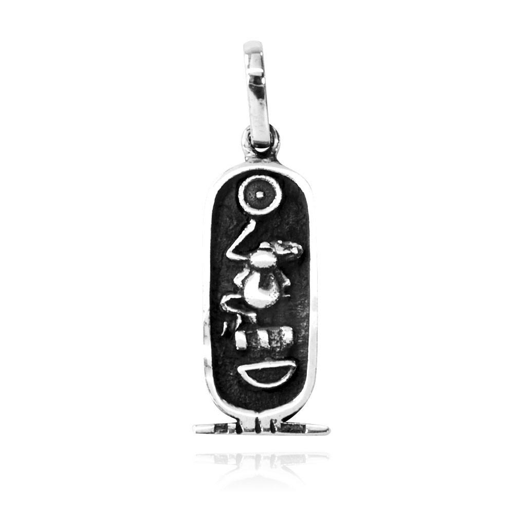 Pingente de Cartucho Egípcio - 9511  - Arte Ativa