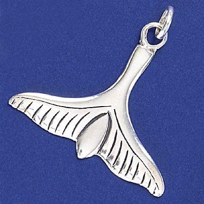 Pingente de Baleia Cauda Grande - 2629  - Magia das Joias