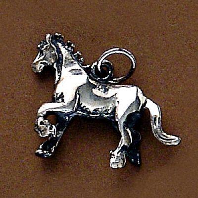 Pingente de Cavalo - 95164  - Magia das Joias