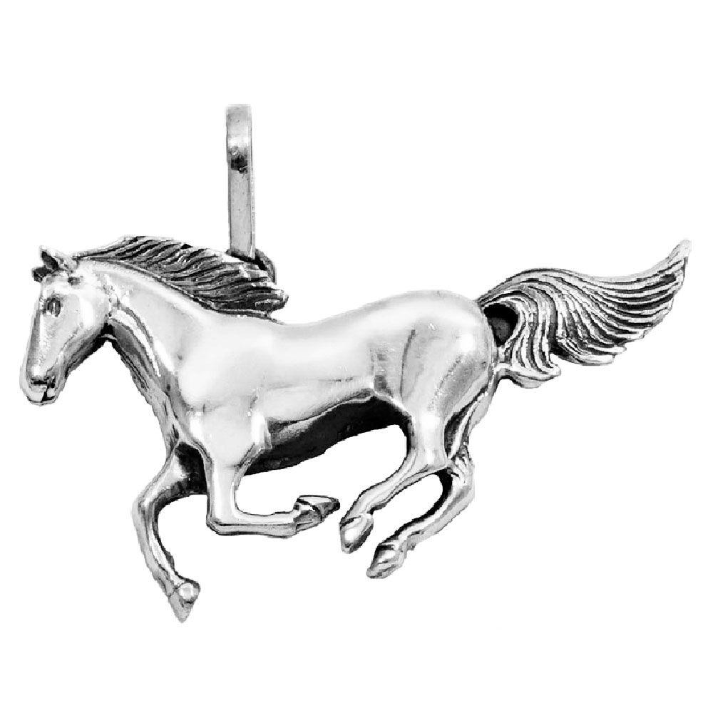 Pingente de Cavalo - 9599  - Magia das Joias