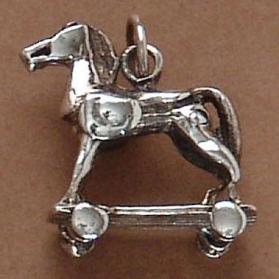 Pingente de Cavalo de Troia - 95238  - Magia das Joias
