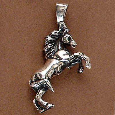 Pingente de Cavalo Empinado  - 95119  - Magia das Joias