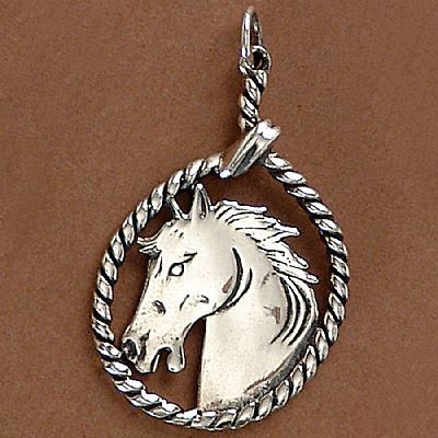 Pingente de Cavalo Laço - 95187  - Magia das Joias