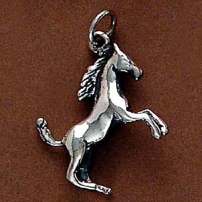 Pingente de Cavalo Potro - 95120  - Magia das Joias