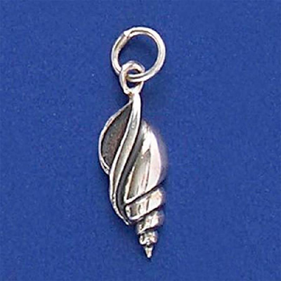 Pingente de Concha do Mar Búzio em Prata 950 - 95207