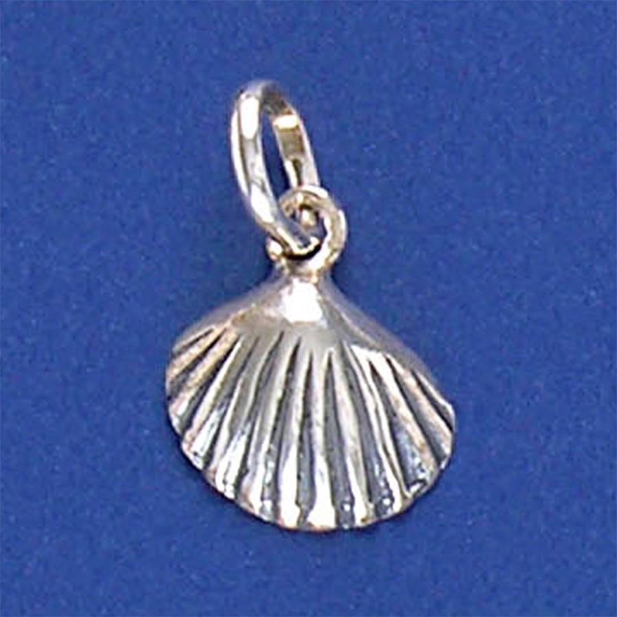 Pingente de Concha do Mar em prata 950 - 9529