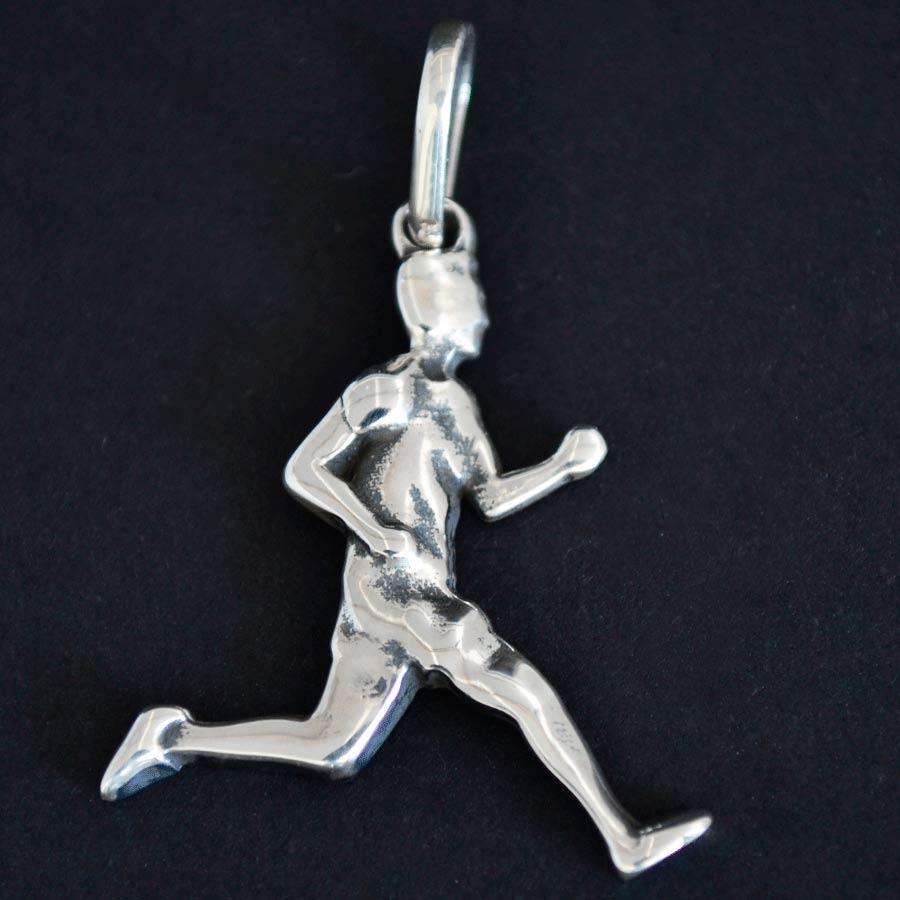 Pingente de Corredor Maratonista Homem Corrida - 95926  - Magia das Joias