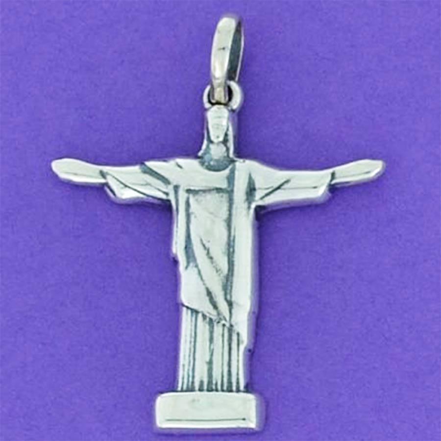 Pingente de Cristo Redentor - 9739  - Magia das Joias