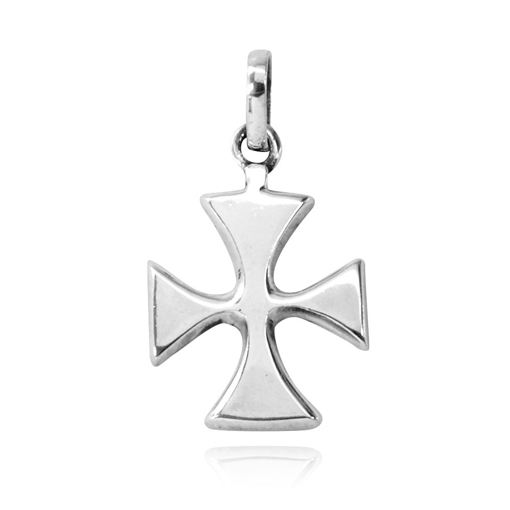 Pingente de Cruz de Malta - 3367  - Magia das Joias