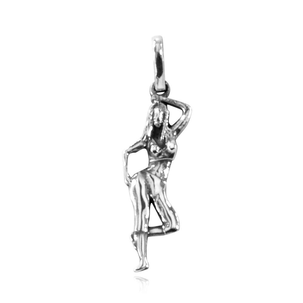 Pingente de Dança Step Ginástica - 9757  - Magia das Joias