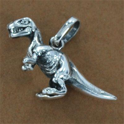 Pingente de Dinossauro - Tiranossauro Rex - Réptil - 96102  - Magia das Joias