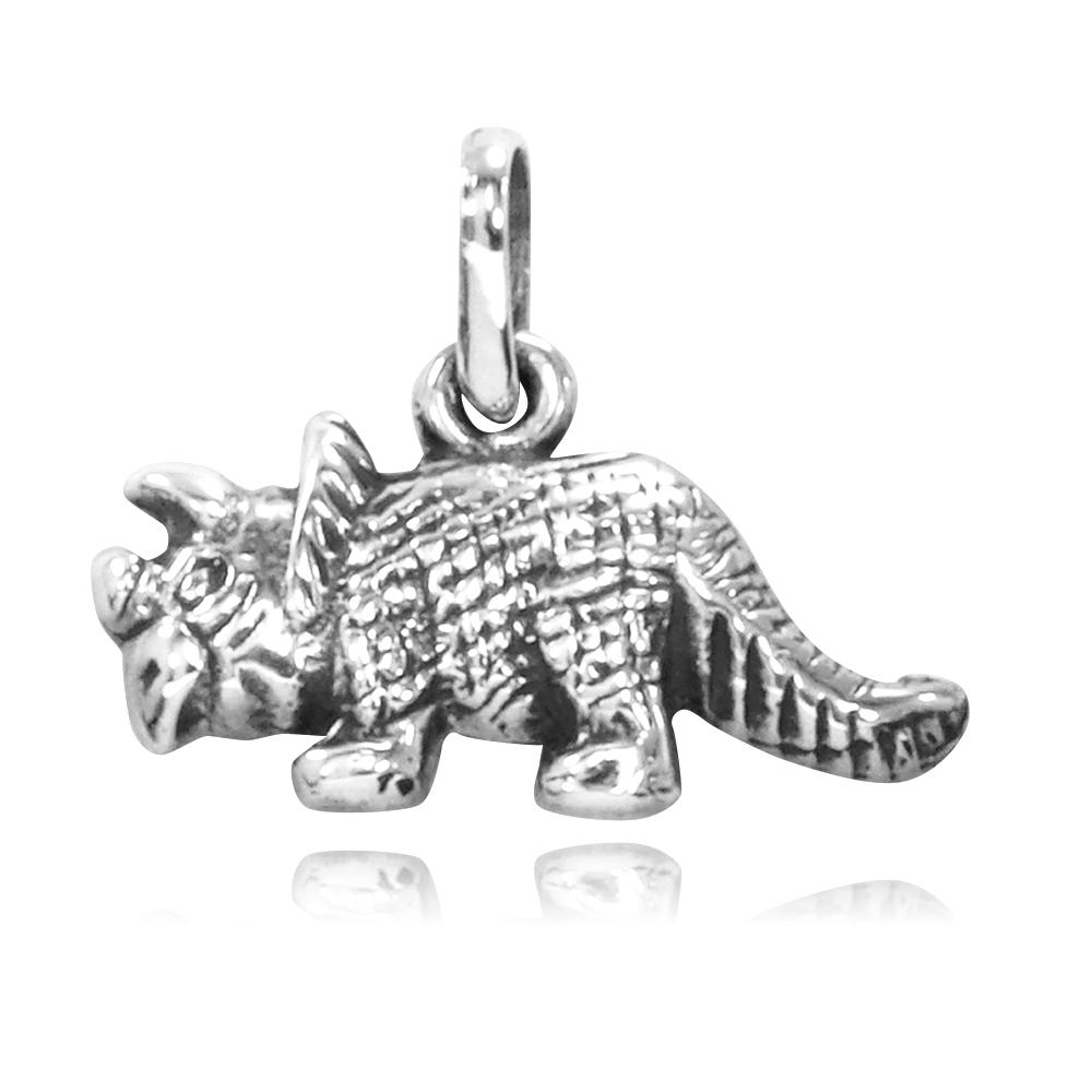 Pingente de Dinossauro - Tricerátopo - Réptil - 95170