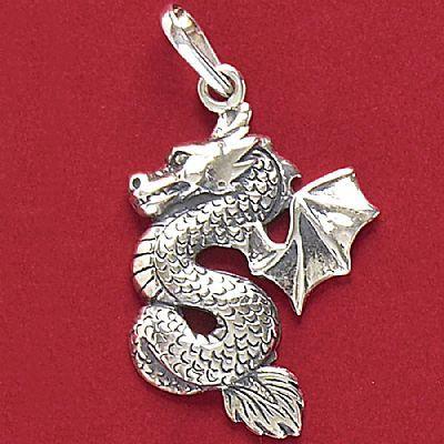 Pingente de Dragão - 33160  - Arte Ativa