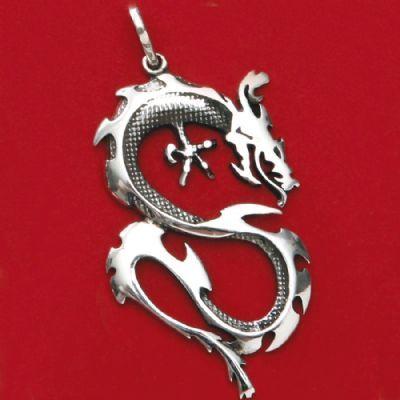 Pingente de Dragão - 95509  - Magia das Joias
