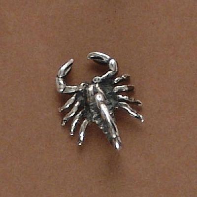 Pingente de Escorpião - 3350  - Magia das Joias