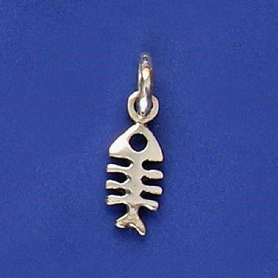 Pingente de Espinha de Peixe - 9595  - Arte Ativa