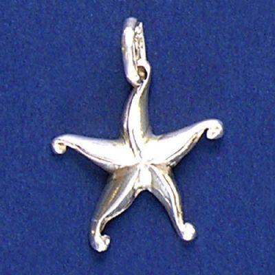 Pingente de Estrela-do-Mar - 3330  - Magia das Joias