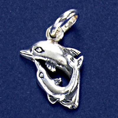 Pingente de Golfinhos - 33259
