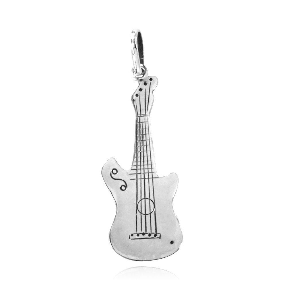 Pingente de Guitarra - 3354  - Arte Ativa