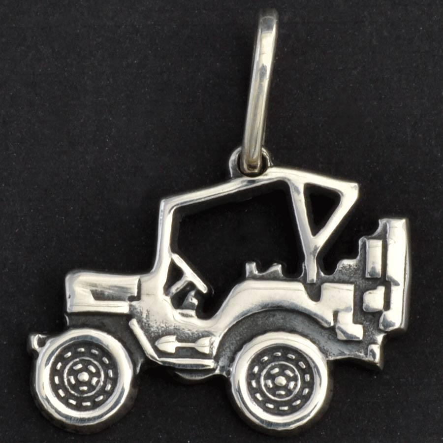 Pingente de Jeep Jipe Fora-de-estrada - 9649  - Magia das Joias