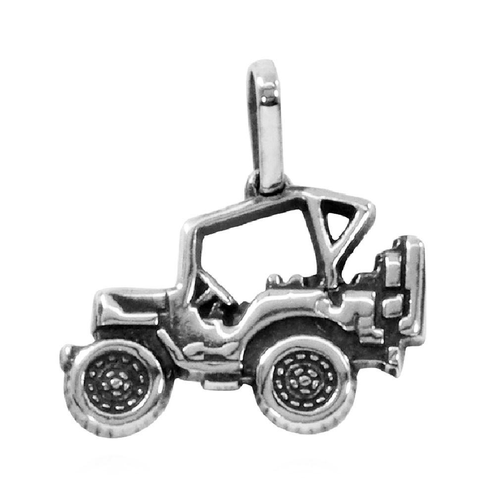 Pingente de Jeep Jipe Carro Fora-de-Estrada Médio - 95910  - Arte Ativa