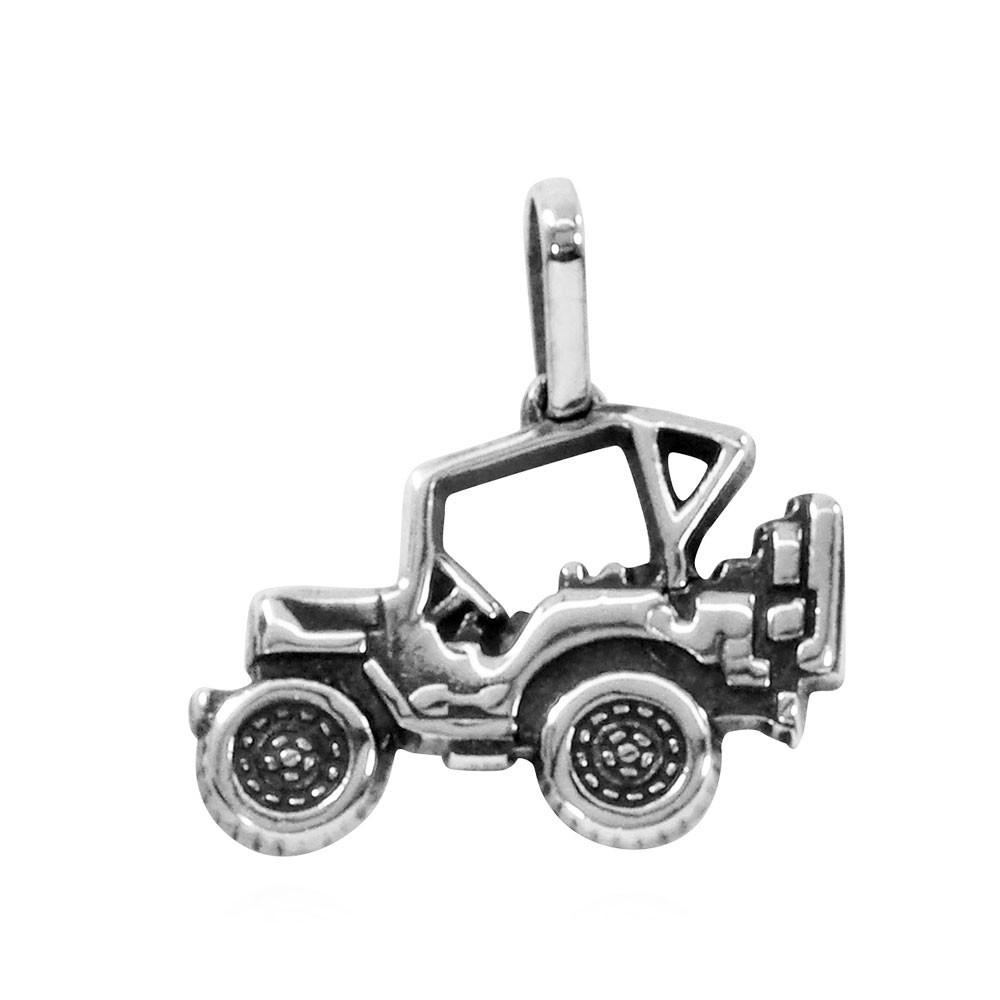 Pingente de Jeep Jipe Carro Fora-de-estrada Pequeno - 9649  - Arte Ativa