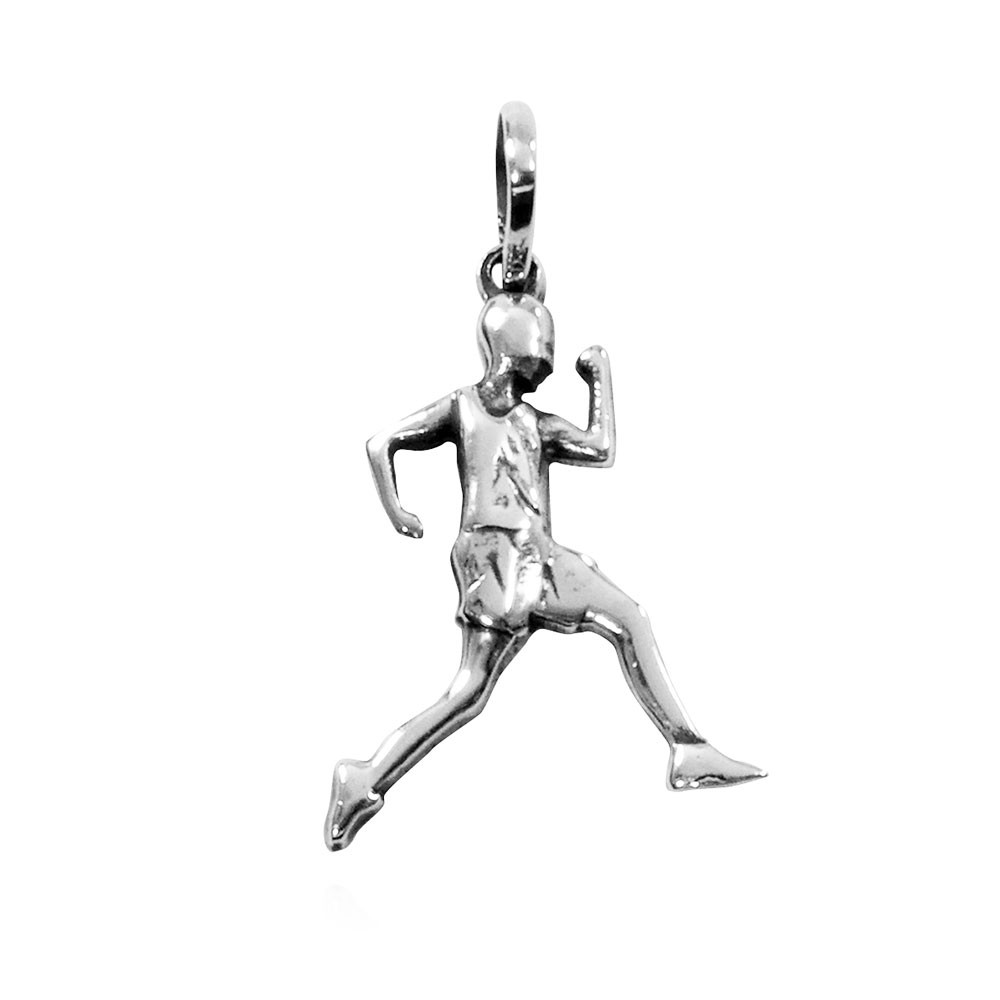 Pingente de Homem Maratonista Corrida Atletismo - 95927  - Arte Ativa