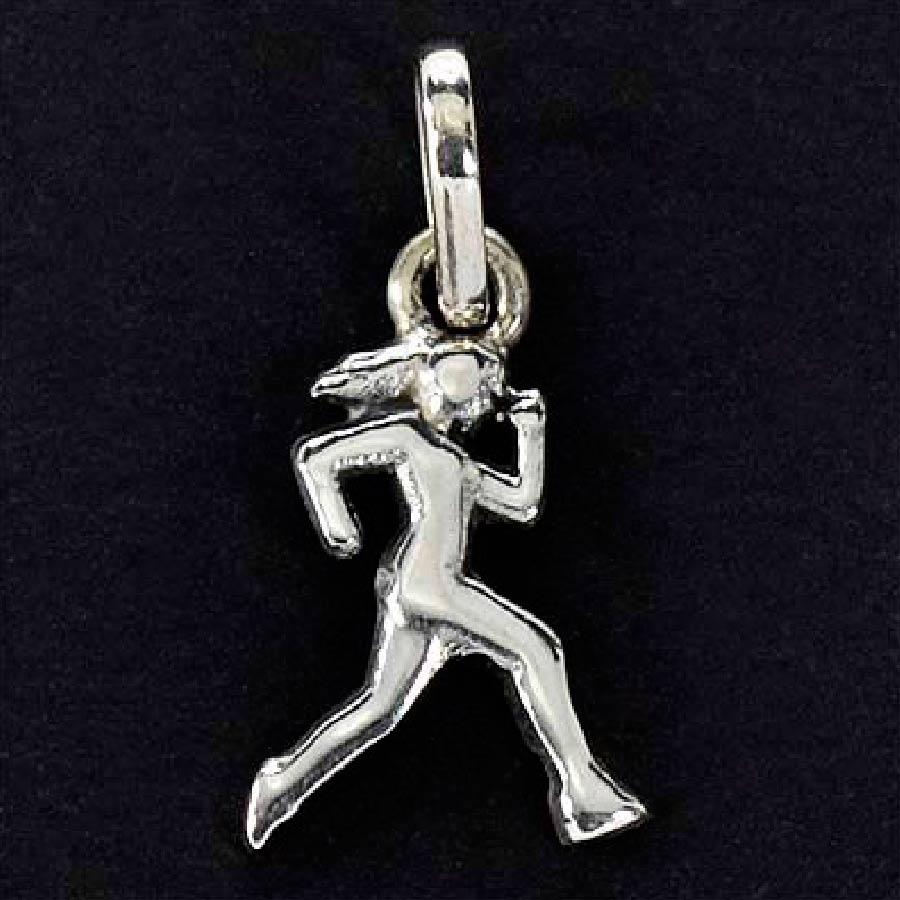 Pingente de Maratonista Corrida Mulher Mini - 95949