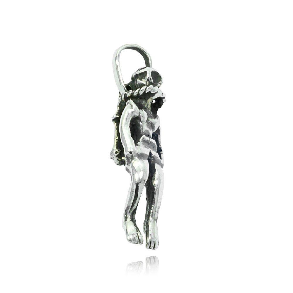 Pingente de Mergulhador Mergulho - 9550  - Magia das Joias