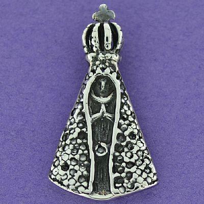 Pingente de Nossa Senhora Aparecida - 95750  - Magia das Joias