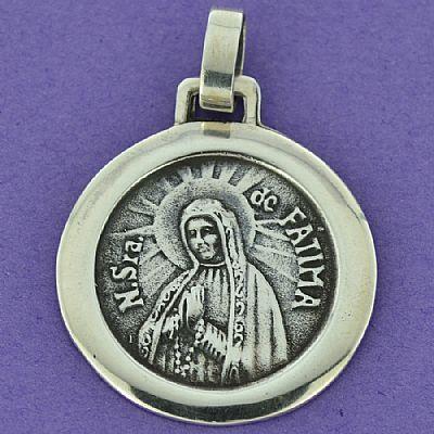 Pingente de Nossa Senhora de Fátima - 95943  - Magia das Joias