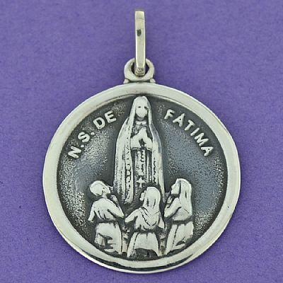 Pingente de Nossa Senhora de Fátima - 95959  - Magia das Joias