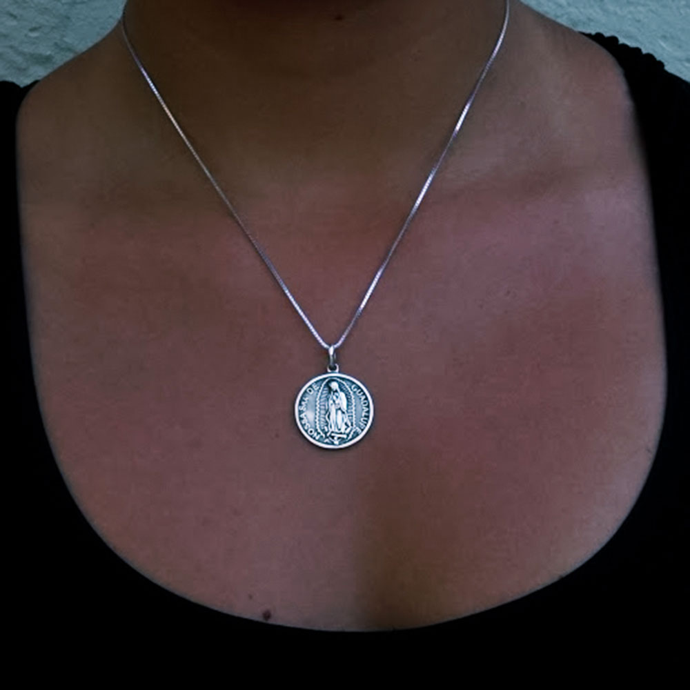 Pingente de Nossa Senhora de Guadalupe - 95552  - Magia das Joias