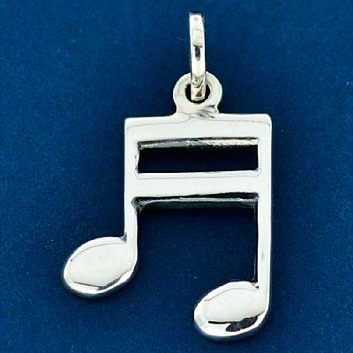 Pingente de Nota Musical Colcheia - 95816  - Magia das Joias