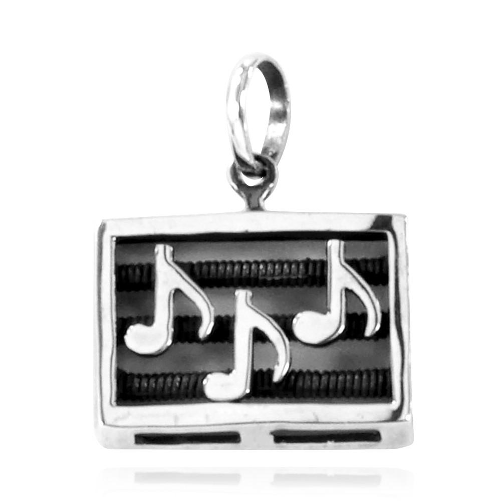 Pingente de Nota Musical Música - 33198