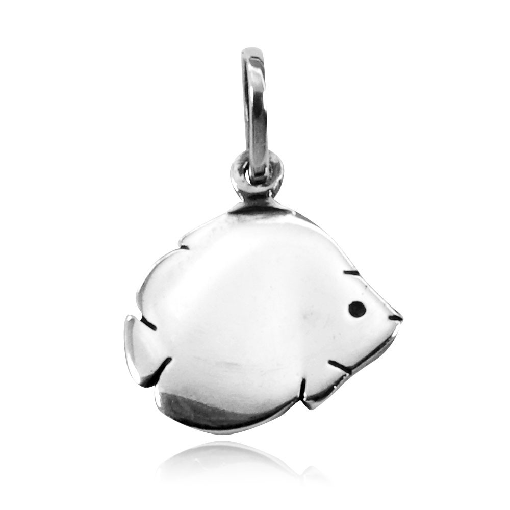 Pingente de Peixe Borboleta - 9568  - Arte Ativa