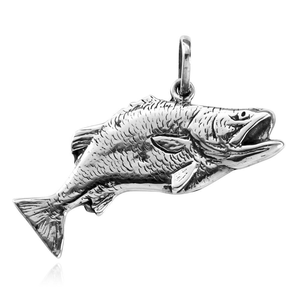 Pingente de Peixe Garoupa - 9526  - Arte Ativa
