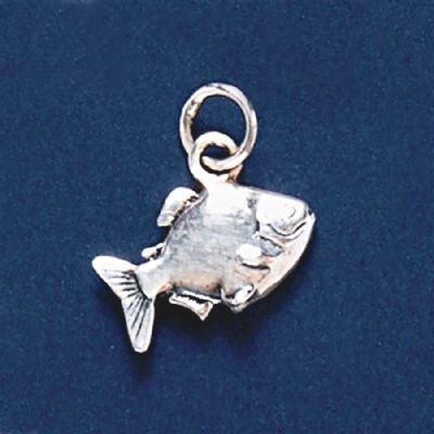 Pingente de Peixe Pacu  - 3362  - Magia das Joias