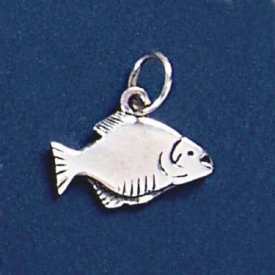 Pingente de Peixe Piranha - 95254  - Magia das Joias