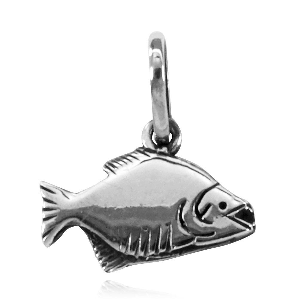 Pingente de Peixe Piranha - 95254  - Arte Ativa