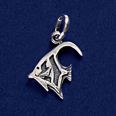 Pingente de Peixe Zanclus - 95282  - Magia das Joias