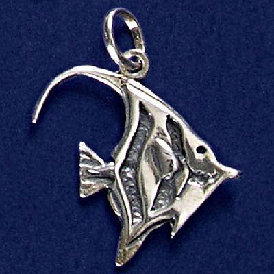 Pingente de Peixe Zanclus - 9567  - Magia das Joias